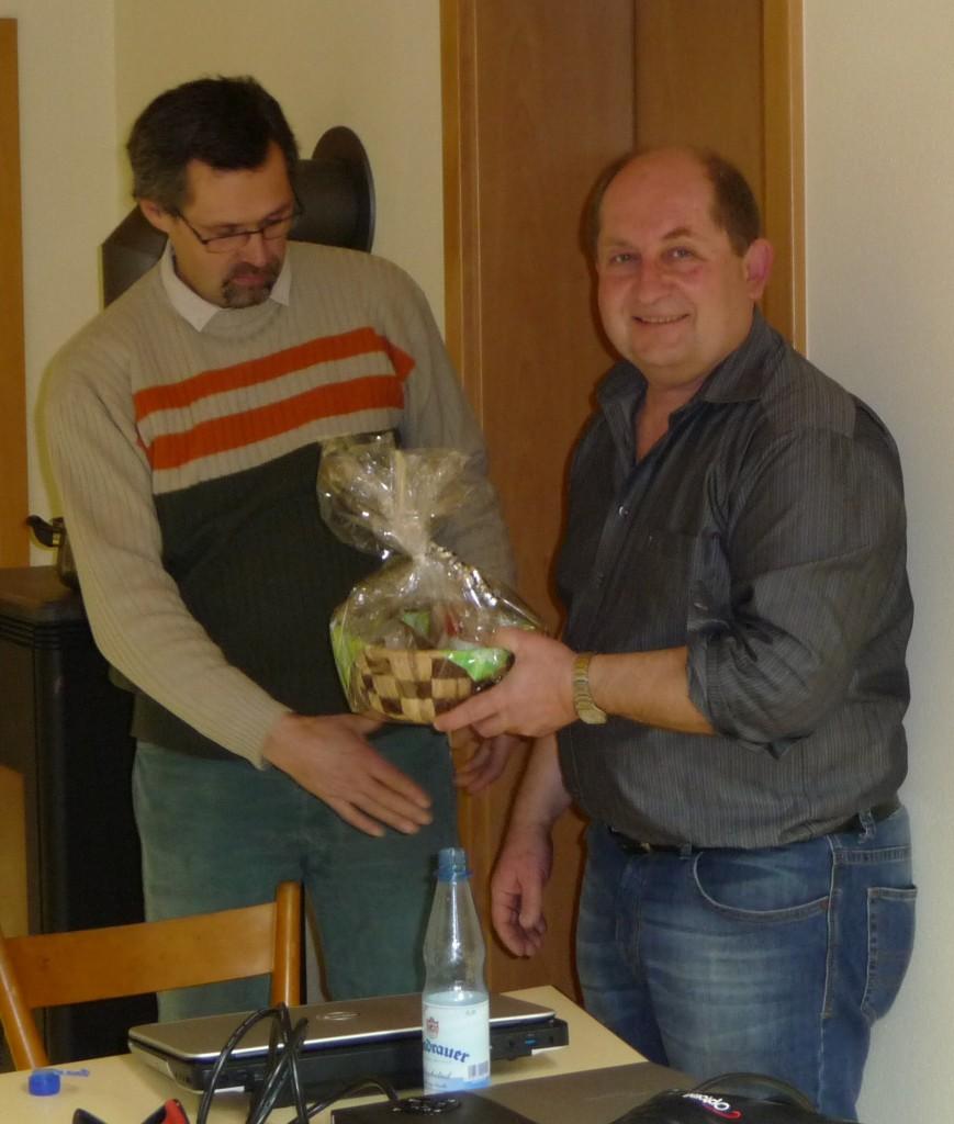 Rudolf Deinhart (links) und Franz-Josef Hecht